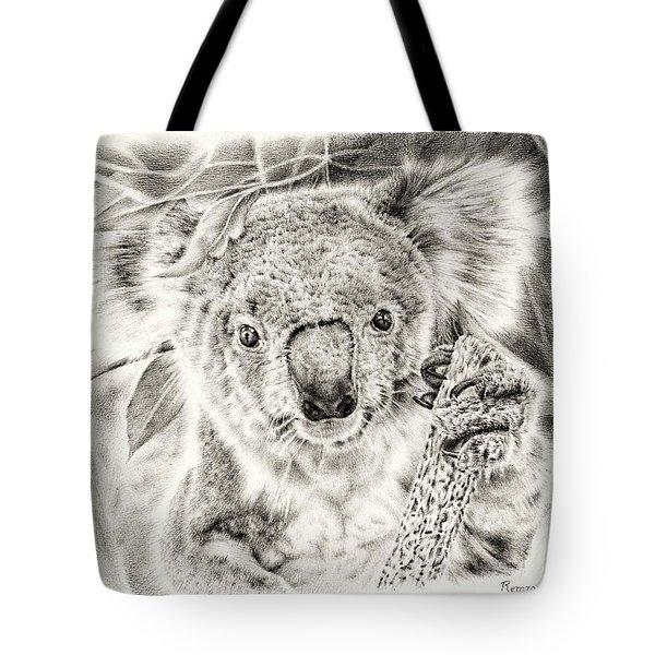 Koala Garage Girl Tote Bag