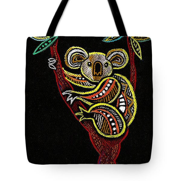 Koala Tote Bag by Leon Zernitsky