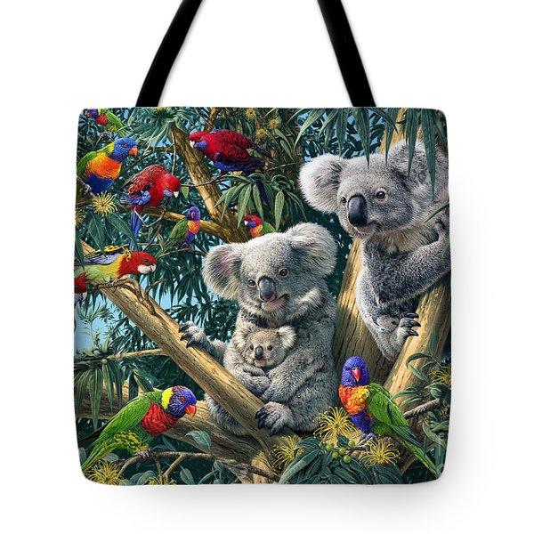 Koala Outback Tote Bag