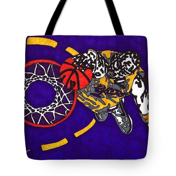 Kobe Bryant Tote Bag by Jeremiah Colley