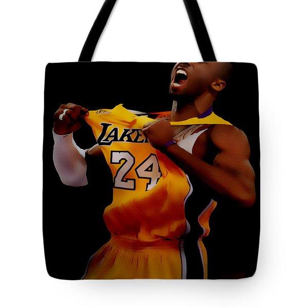 Kobe Bryant Sweet Victory Tote Bag