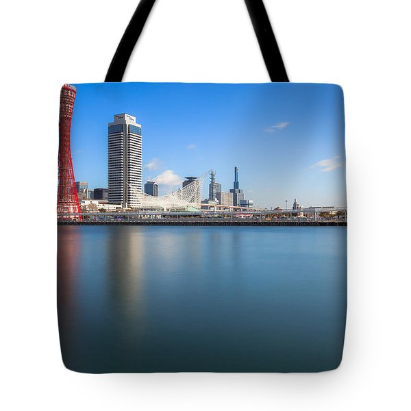 Kobe Port Island Tower Tote Bag