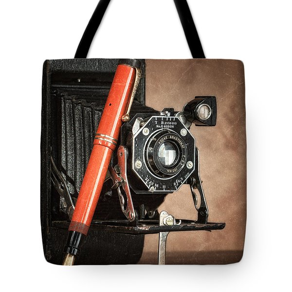 Kodak And Parker Still Life Tote Bag