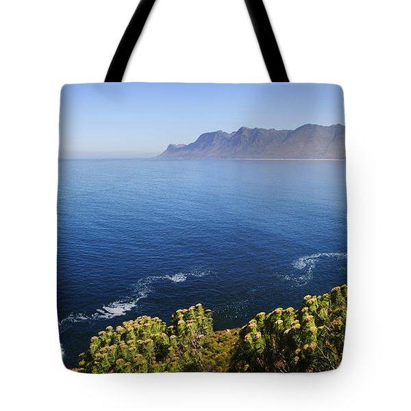 Kogelberg Area View Over Ocean Tote Bag