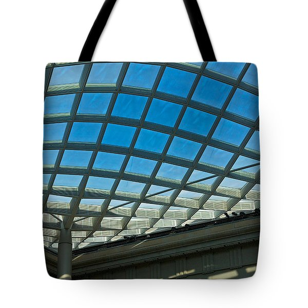 Kogod Courtyard Ceiling #3 Tote Bag
