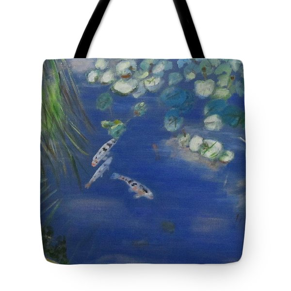Koi At Red Butte Gardens Tote Bag