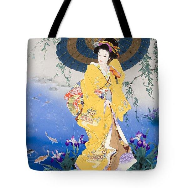 Koi Tote Bag by Haruyo Morita