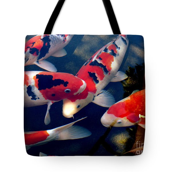 koi Tote Bag by Irma BACKELANT GALLERIES