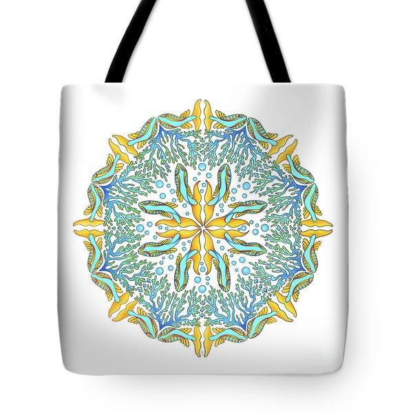 Koi Mandala Tote Bag