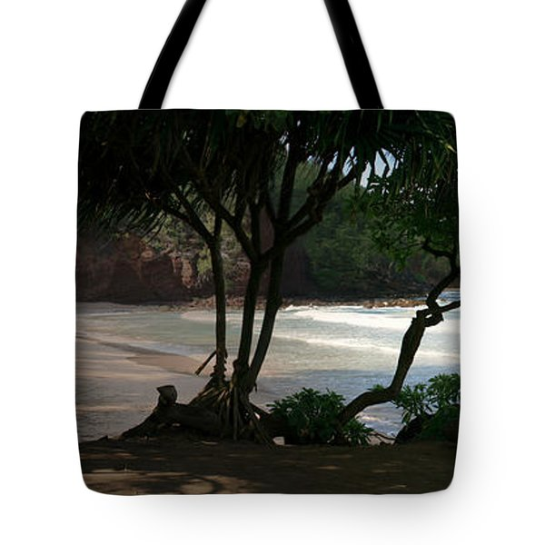 Koki Beach Hana Maui Hawaii Tote Bag by Sharon Mau