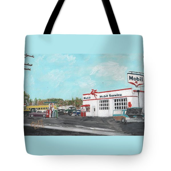 Koki's Garage Tote Bag