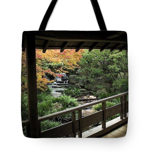 Kokoen Garden - Himeji City Japan Tote Bag by Daniel Hagerman