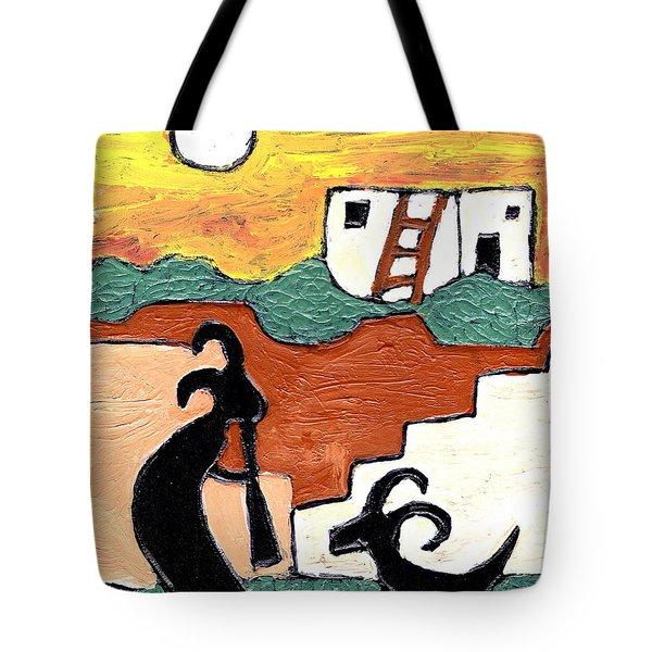 kokopeli at the Pueblo Tote Bag
