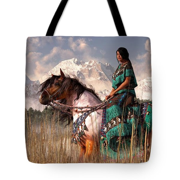 Kokopelmana Tote Bag by Daniel Eskridge