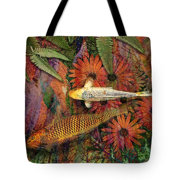 Tote Bag featuring the mixed media Kona Kurry by Christopher Beikmann