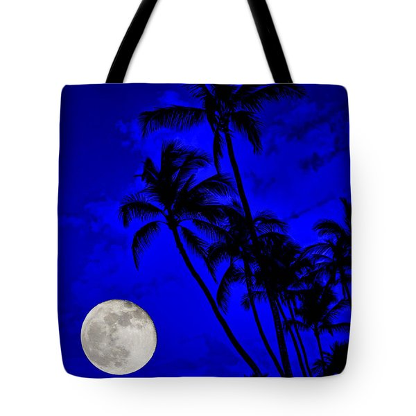 Kona Moon Rising Tote Bag