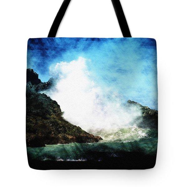 Kona Sea Tote Bag by Athala Carole Bruckner