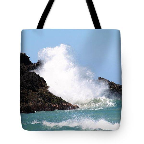 Kona Wave Tote Bag by Athala Carole Bruckner