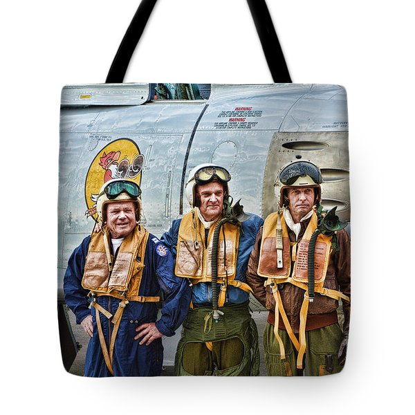 Korea 1951 Tote Bag by Tommy Anderson