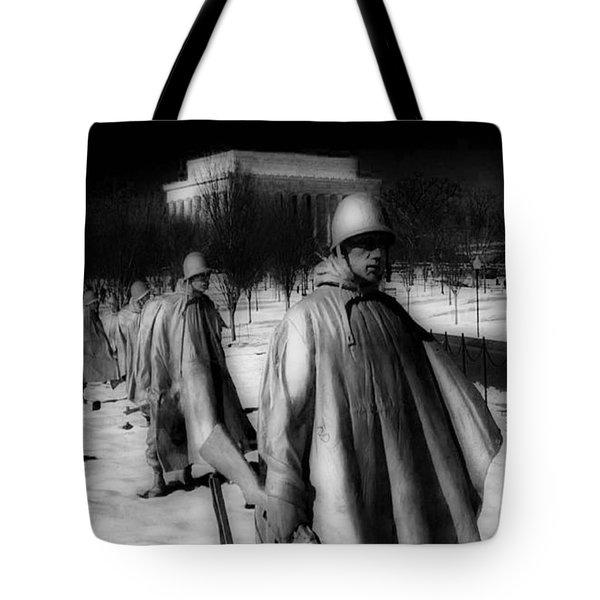 Korean Memorial Tote Bag by Skip Willits