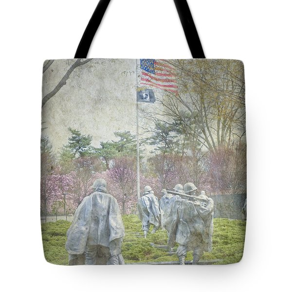 Korean War Veterans Memorial Washington Dc Beautiful Unique   Tote Bag