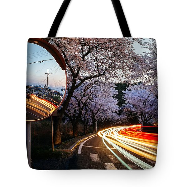 Korea's Roadside Blossoms Tote Bag