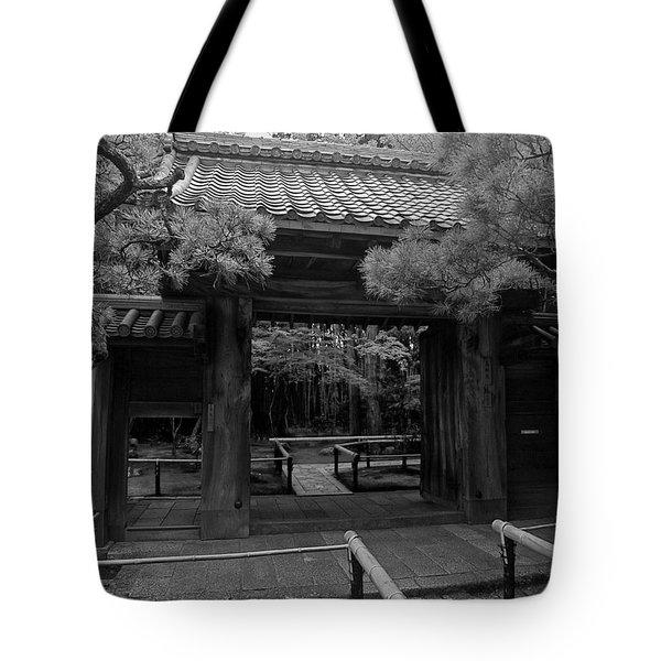 Koto-in Zen Temple Entrance - Kyoto Japan Tote Bag