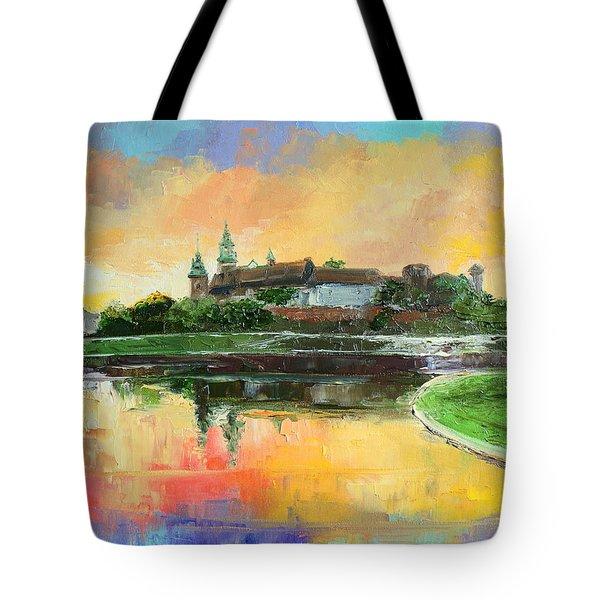 Krakow - Wawel Castle Tote Bag