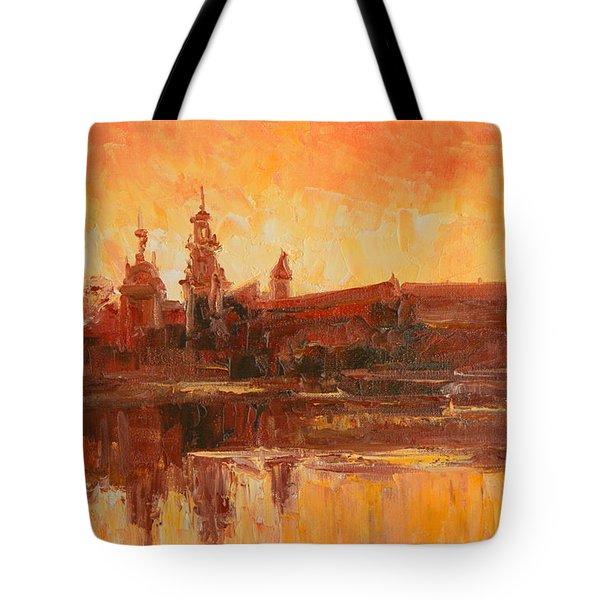 Krakow - Wawel Impression Tote Bag