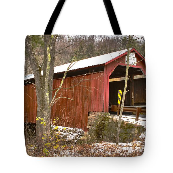 Krickbaum Bridge  Tote Bag
