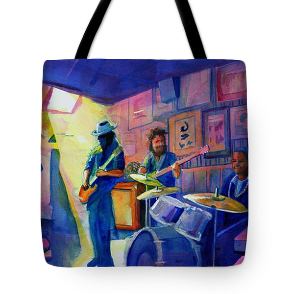 Kris Lager Band At Sanchos Broken Arrow Tote Bag