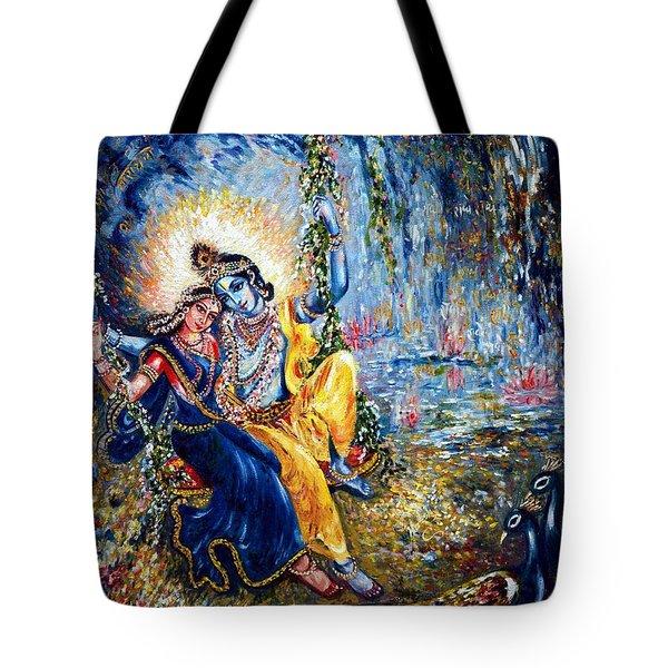 Krishna Leela Tote Bag