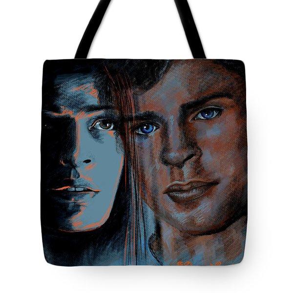 Kristin And Tom Tote Bag by Francoise Dugourd-Caput