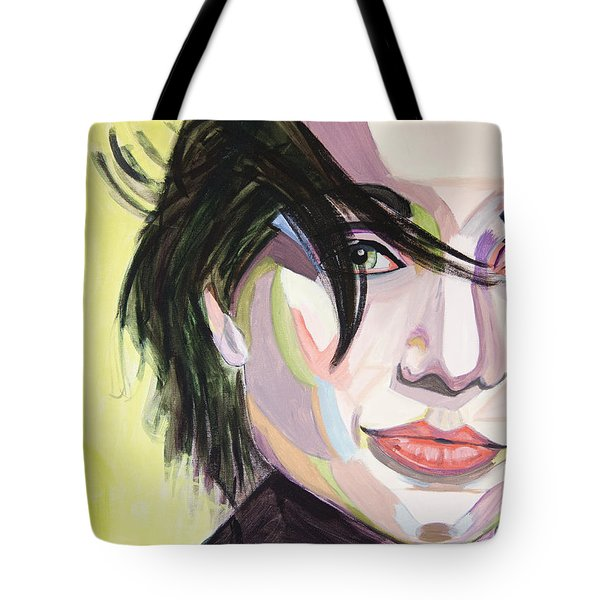 Kristin Scott Thomas Tote Bag