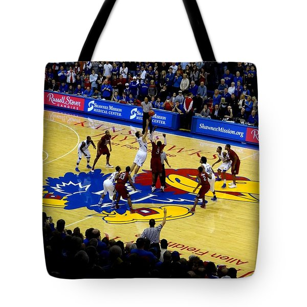 Ku Tip Off Tote Bag by Keith Stokes