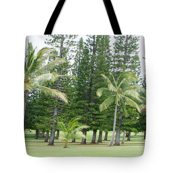 Kukuiolono Golf Course - Hole 2 Tote Bag