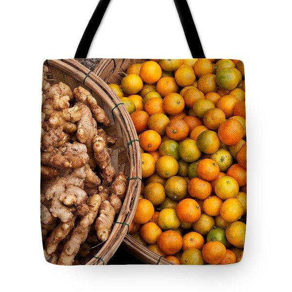 Kumquats And Ginger Tote Bag