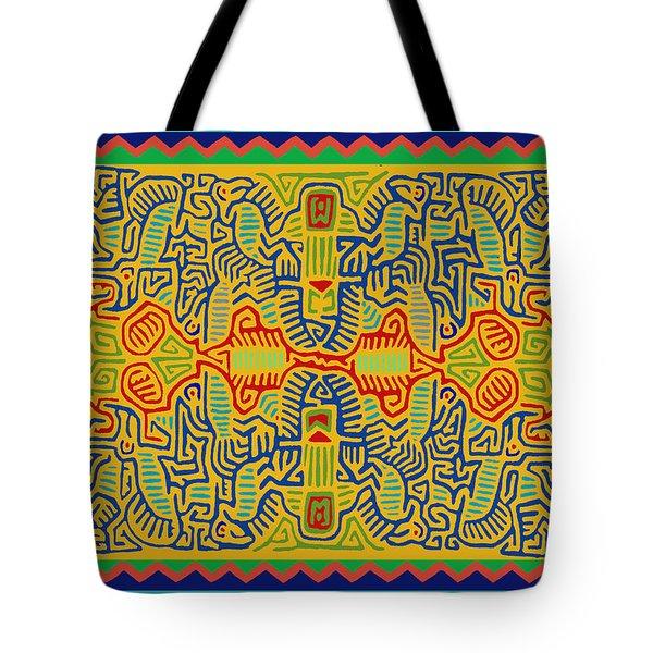 Kuna Bird Spirits Tote Bag