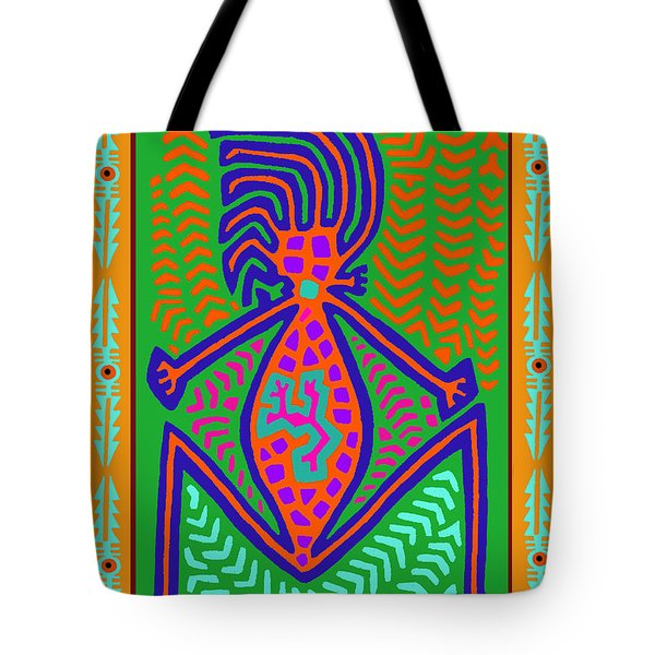 Kuna Indian Mother Earth Tote Bag