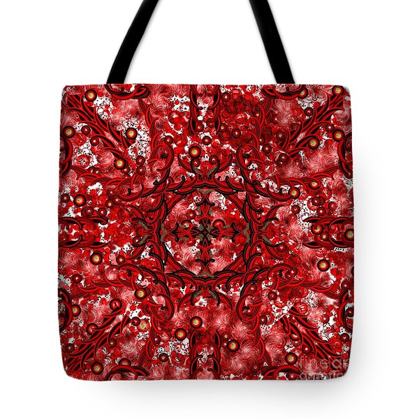 Kundalini Energy Tote Bag by Barbara Chichester