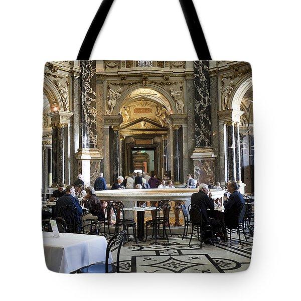 Kunsthistorische Museum Cafe II Tote Bag by Madeline Ellis