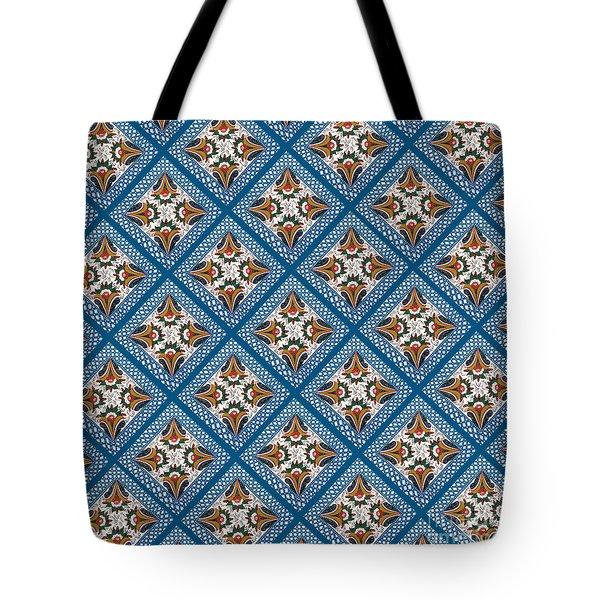 Kurbits Squares Tote Bag by Leif Sodergren