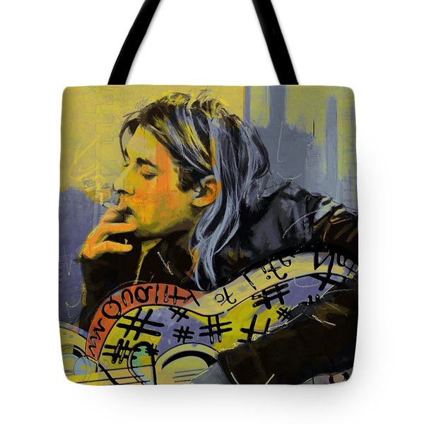 Kurt Cobain Tote Bag by Corporate Art Task Force