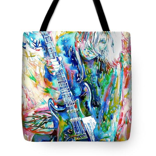 Kurt Cobain Portrait.1 Tote Bag
