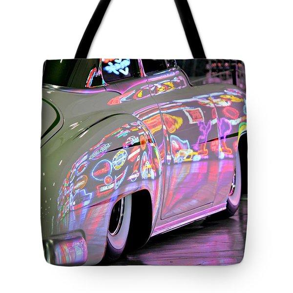 Kustom Neon Reflections Tote Bag