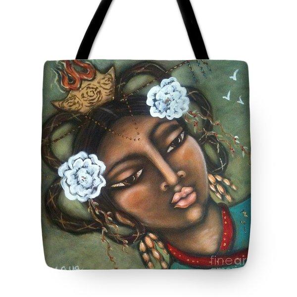Kwan Yin Tote Bag by Maya Telford
