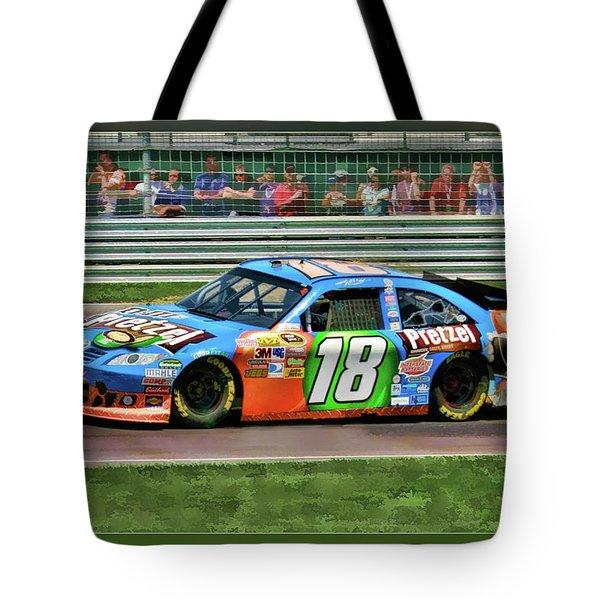 Kyle Busch Tote Bag