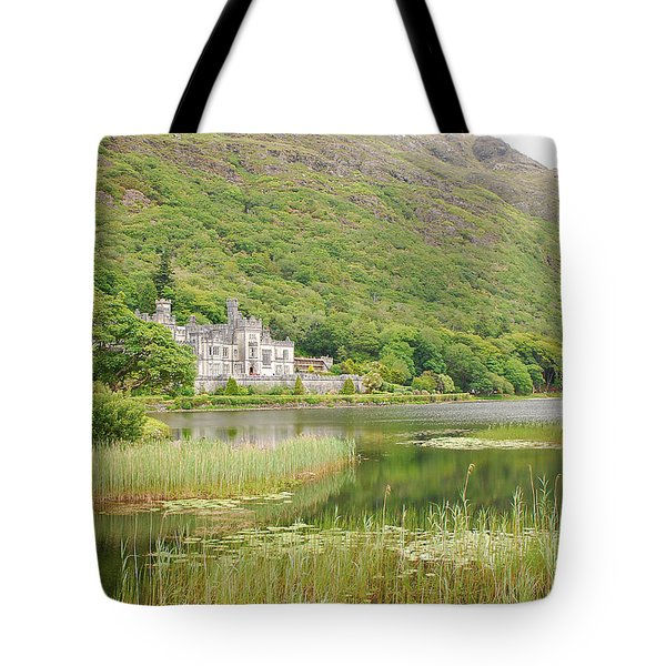 Tote Bag featuring the photograph Kylemore Abbey 1 by Mary Carol Story
