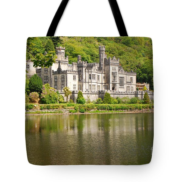 Kylemore Abbey 2 Tote Bag by Mary Carol Story