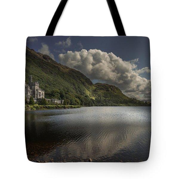 Kylemore Abbey--- Ireland Tote Bag by Tim Bryan